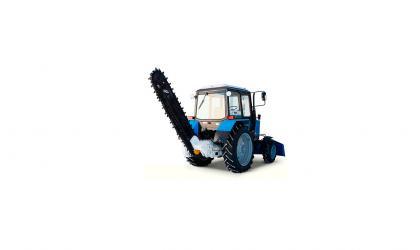 Грунторез (бара) на базе трактора МТЗ