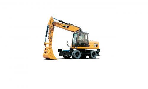 Колесный экскаватор Caterpillar M318D